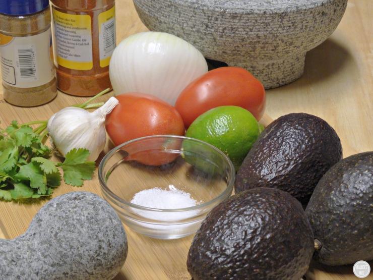 homemade guacamole recipe fresh  ingredients