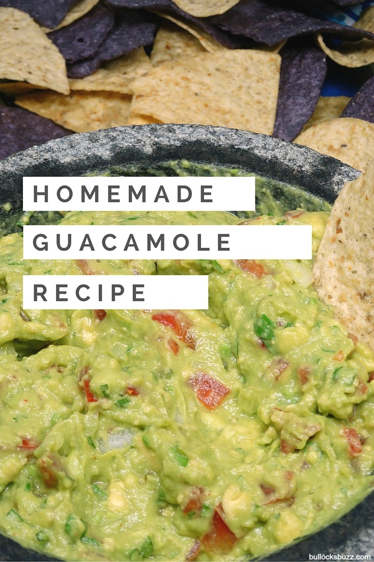 Homemade Guacamole main