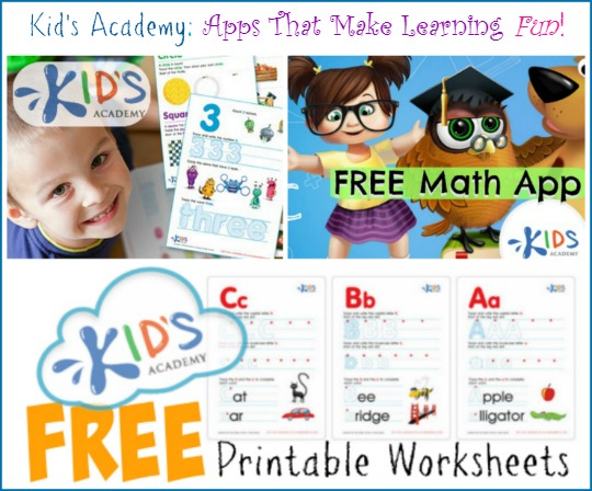 Kids Academy: New Singapore Math App + Free Printable Worksheets!