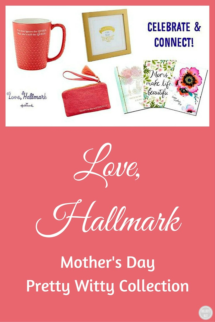 Love, Hallmark Mother's Day Pretty Witty Collection pin