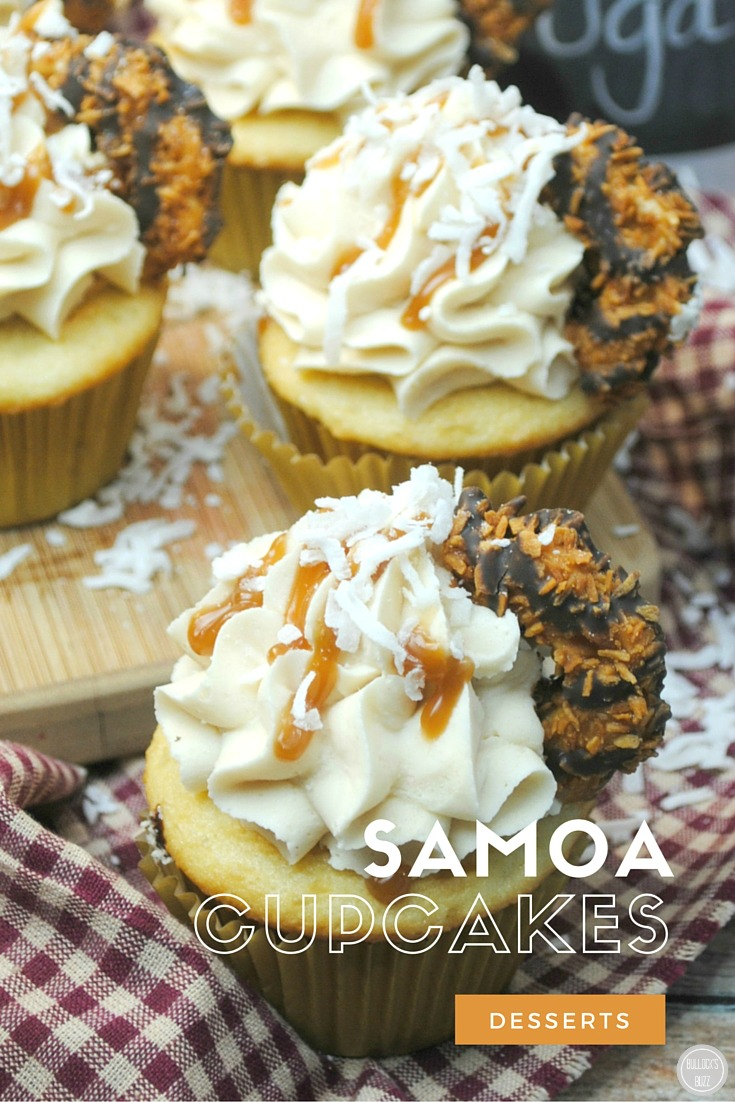 Lavender Vanilla Cupcakes More Cupcake Recipes Samoa Cupcakes