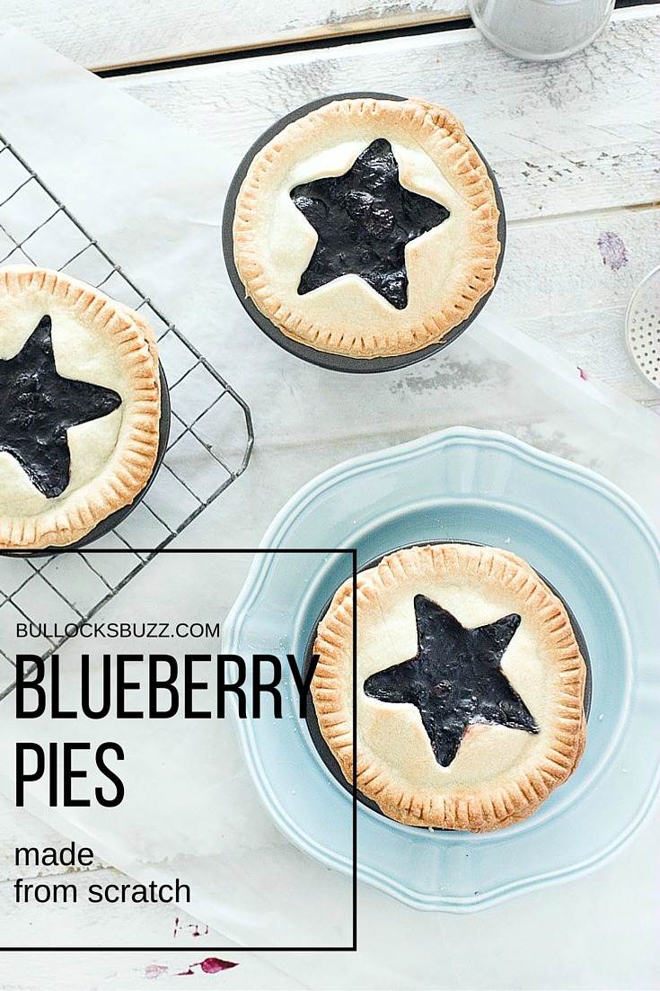 mini blueberry pies recipe mian