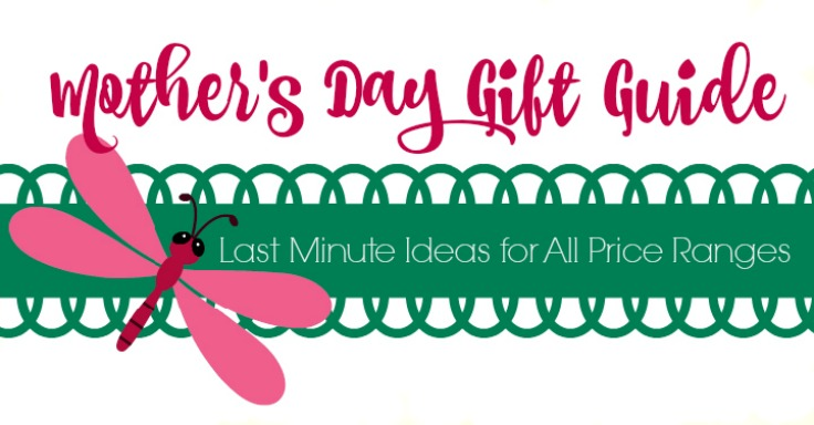 last minute mother's day gift guide banner image pink