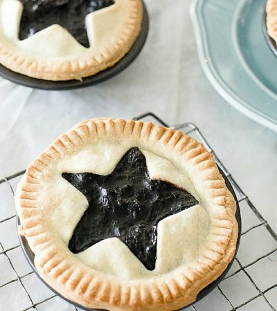 Mini Blueberry Pies Recipe