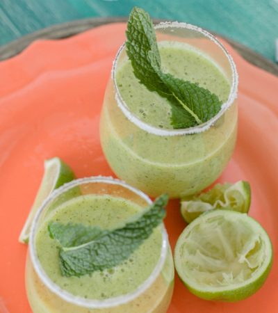 Pineapple Mint Margarita – Cinco de Mayo
