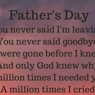 Father's Day Without My Dad