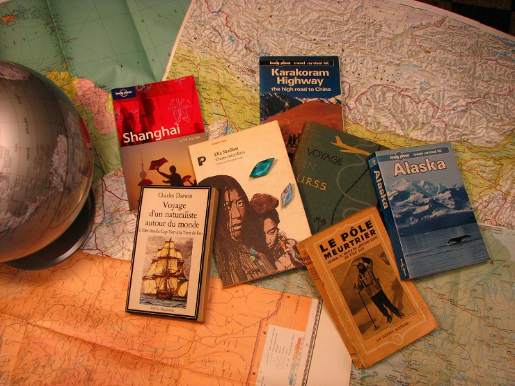 Long-term Travel books