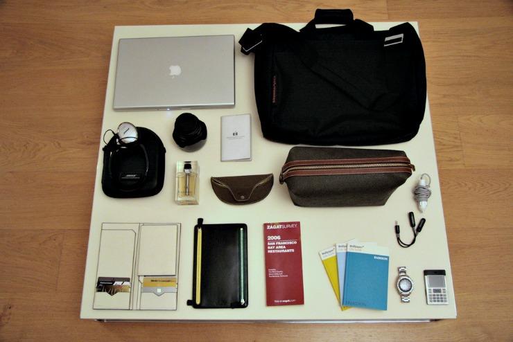 Long-term Travel pack a travel kit