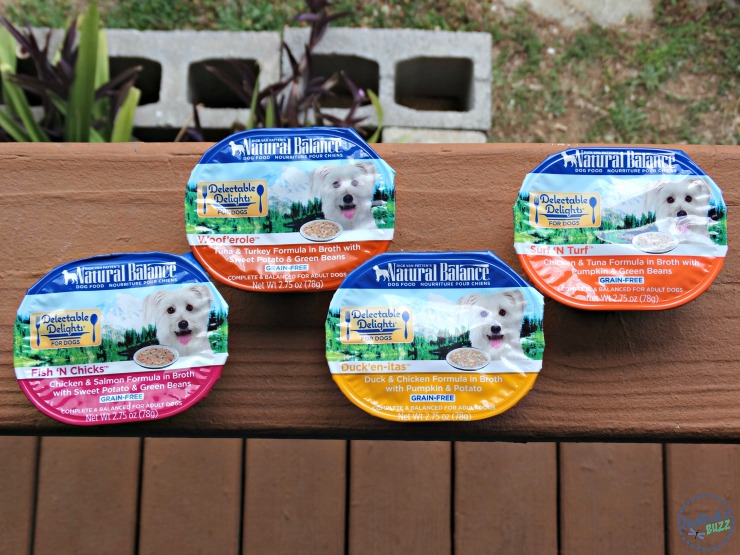 Natural Balance Delectable Delights Dog Food