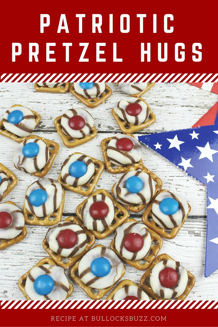 Patriotic Pretzel Hugs main image