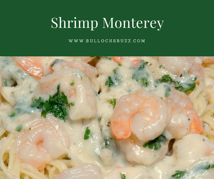 Shrimp Monterey main