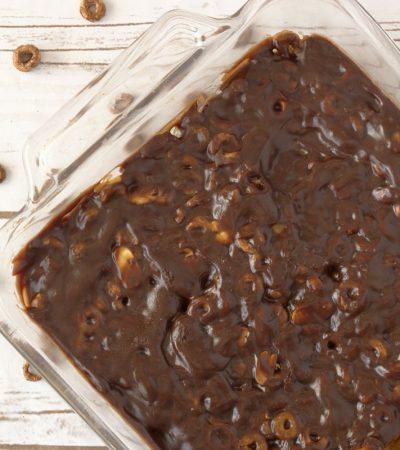 Gluten Free Chocolate Cheerios Candy Bars