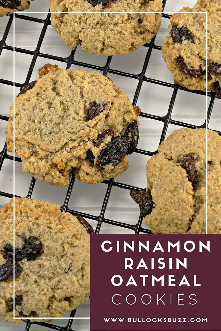 Cinnamon Raisin Oatmeal Cookies - Cookie Clicker