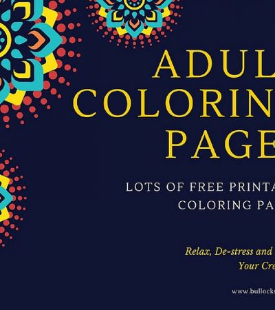 Free Adult Coloring Pages – Time to Relax!