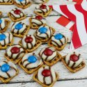 Patriotic Pretzel Hugs – Sweet, Salty and Delicious!