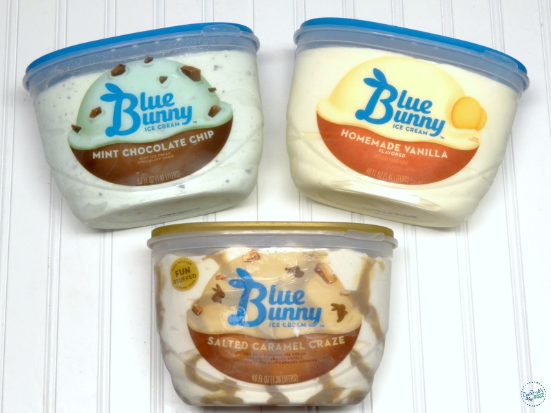 Caramel Almond Vanilla Ice Cream Torte Blue Bunny ice cream flavors