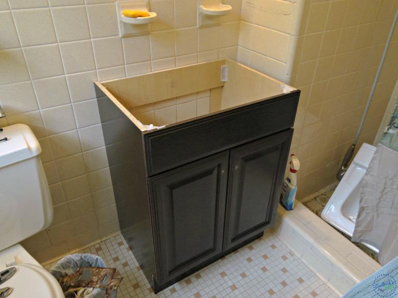 Delta Faucet master bath installation vanity