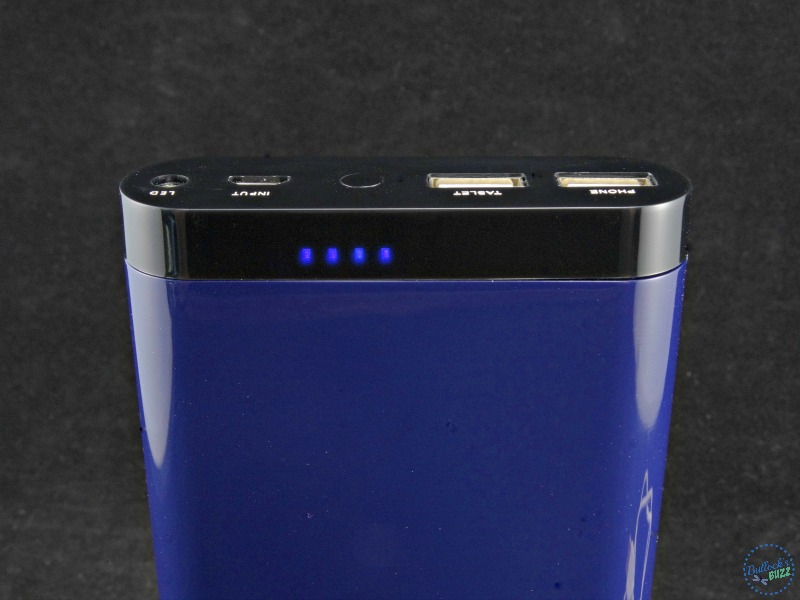 Tech Armor ActivePower 208000mAh External USB Power Bank charge indicator lights