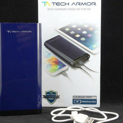 Tech Armor ActivePower 20800mAh External USB Power Bank – Review