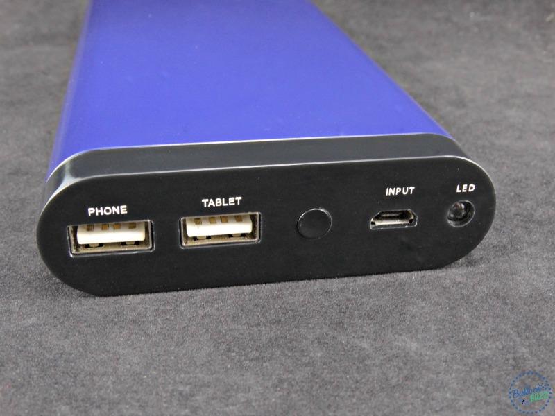 Tech Armor ActivePower 208000mAh External USB Power Bank front view