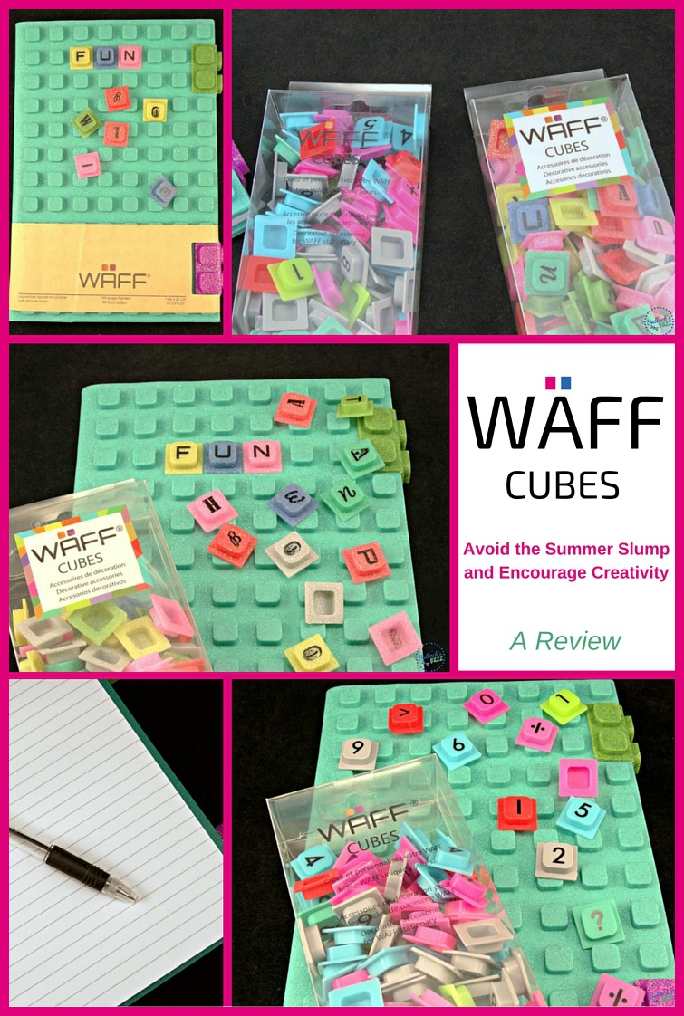 WAFF Notebook and cubes main image