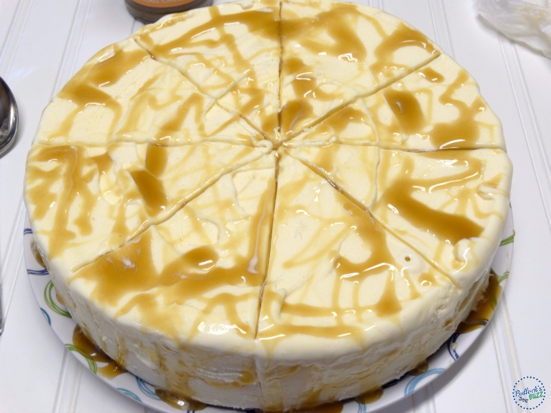 caramel almond vanilla ice cream torte add caramel
