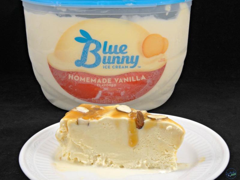 caramel almond vanilla ice cream torte image1