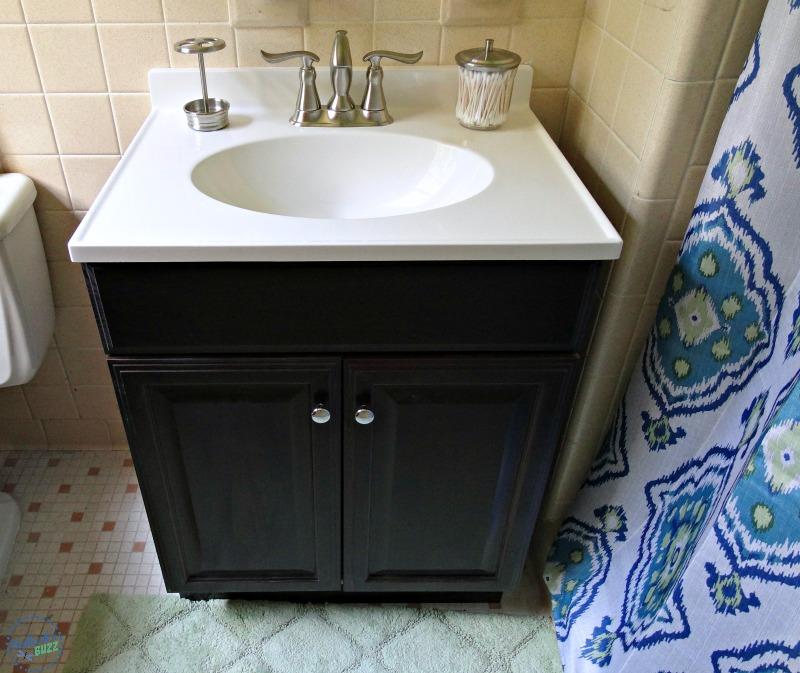 delta faucet master bath Linden faucet after