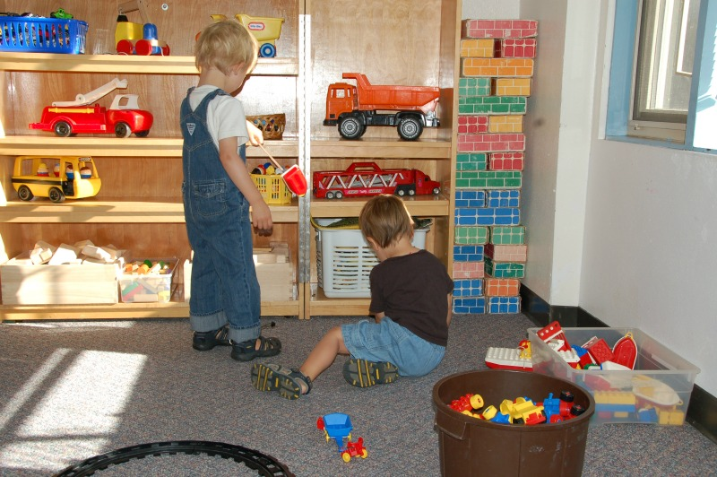 early childhood education play