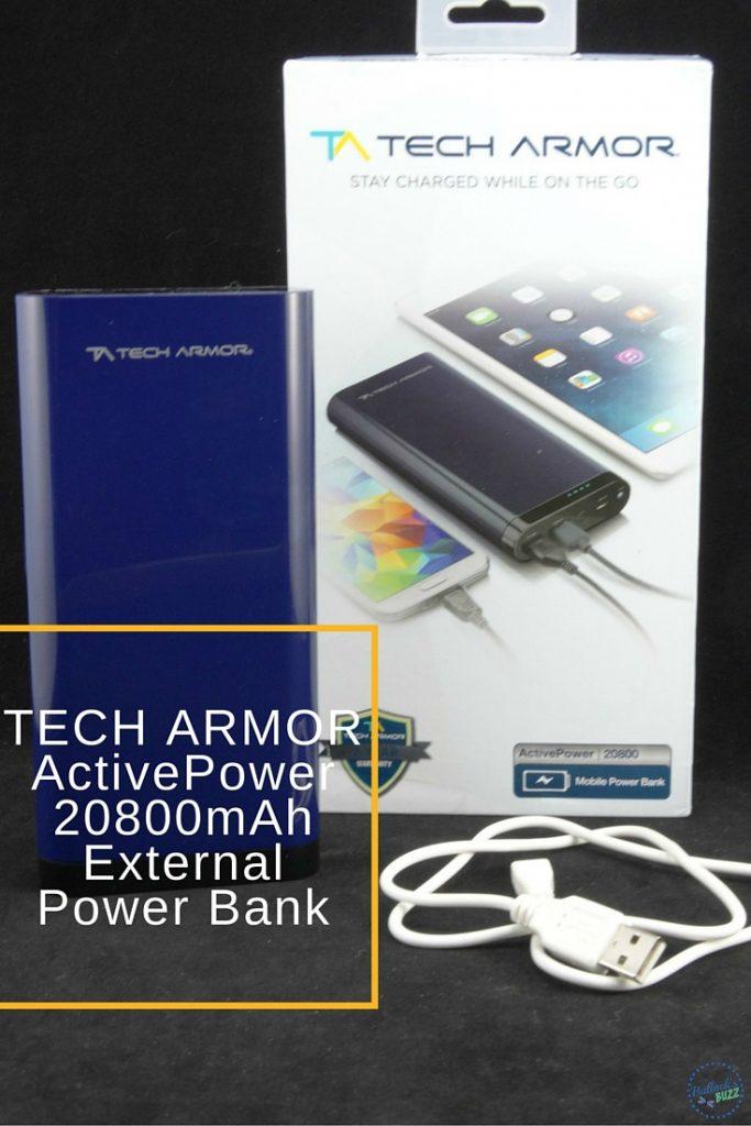 tech armor activepower 20800mAh usb power bank main image