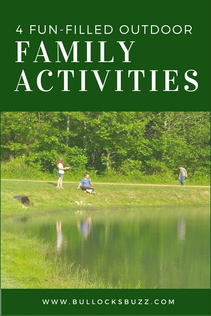 4 fun-filled outdoor family activities