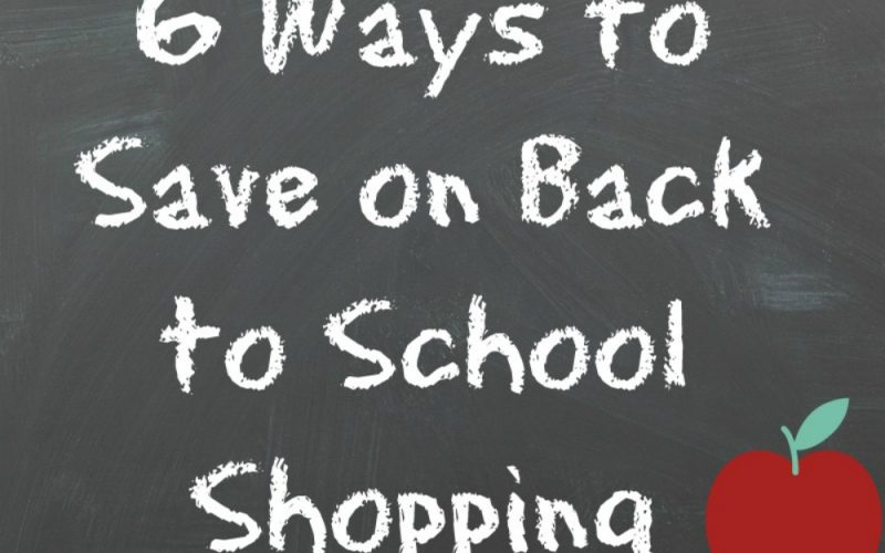 6 Ways to Save on Back to School Shopping ##Saveomax16