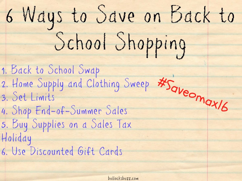 6 ways to save on back to school shopping main image to use for post