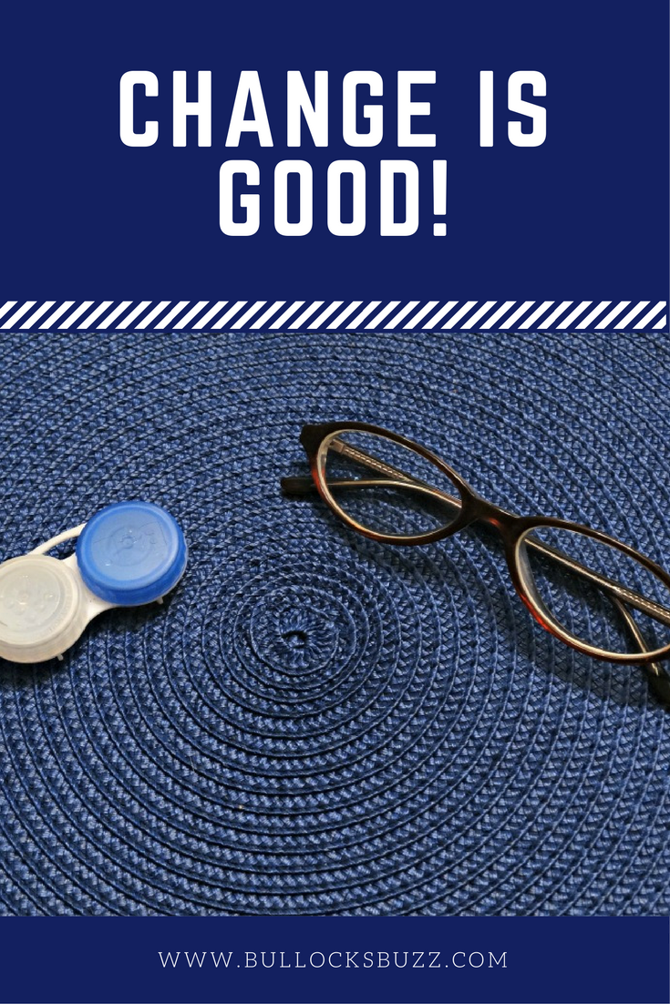Change is good! contact lens solution upgrade clear care sweeps