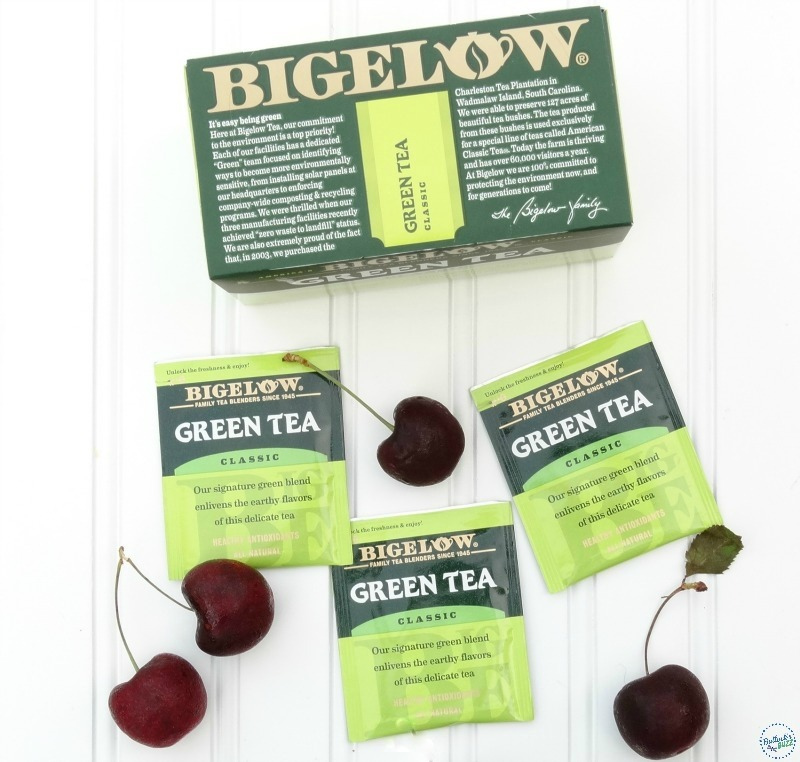 Cherry Ginger Tea Bigelow Tea tea packs2