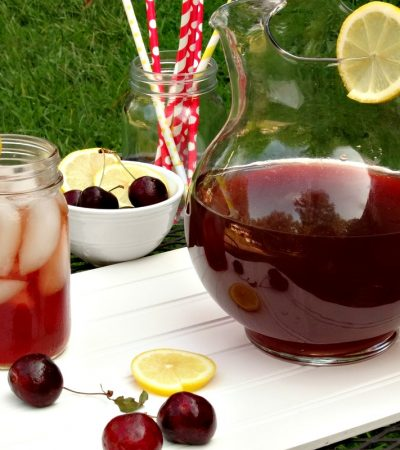Cherry and Ginger Infused Green Tea