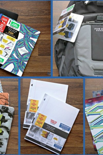 Five Star – Back to School Supplies + A Giveaway!