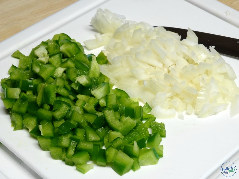 chili recipe dice green pepper and onion