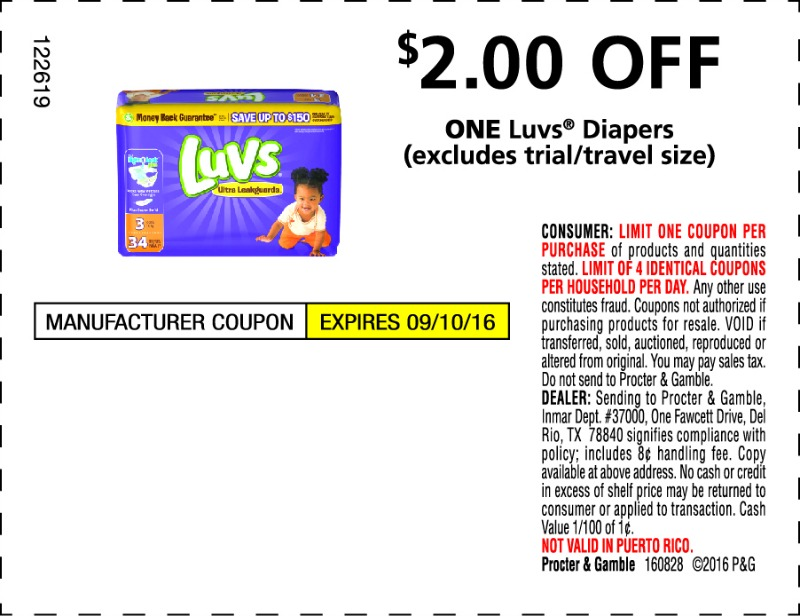 diy diaper deodorizing disk plus coupon for luvs diapers in paper on sunday