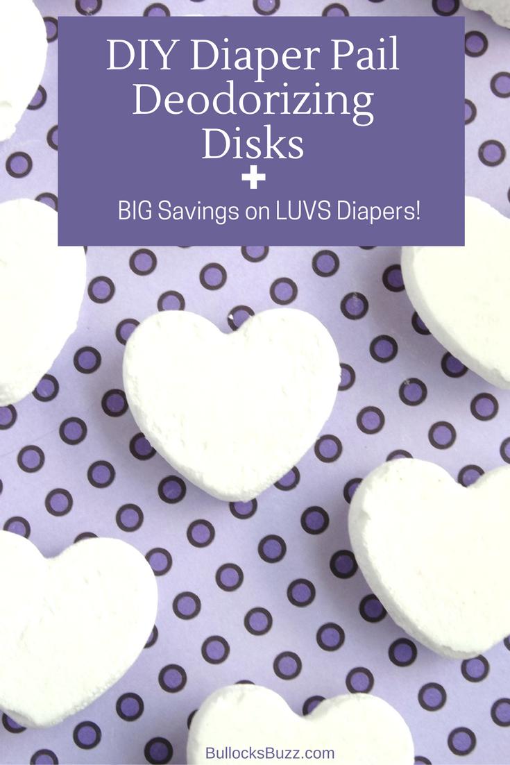 diy diaper pail deodorizing disks luvs diapers coupons main image1
