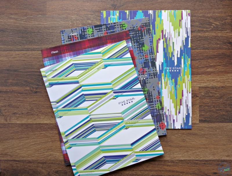five star back to school folders