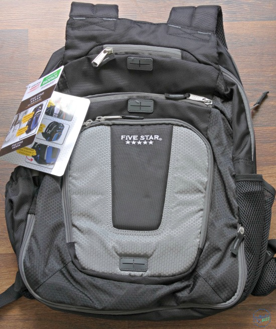 five star back to school ultimate tech backpack
