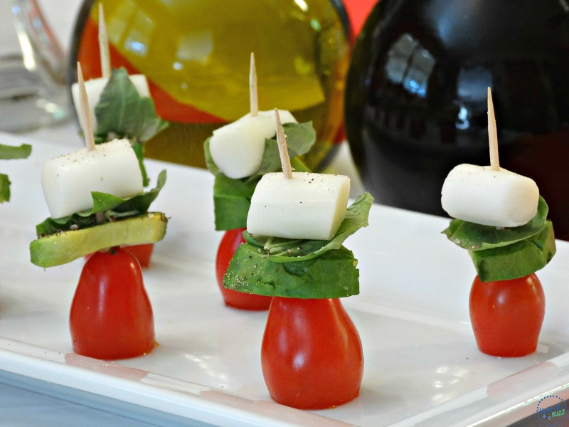 party snack ideas healthy snack ideas for caprese avocado skewers 13239