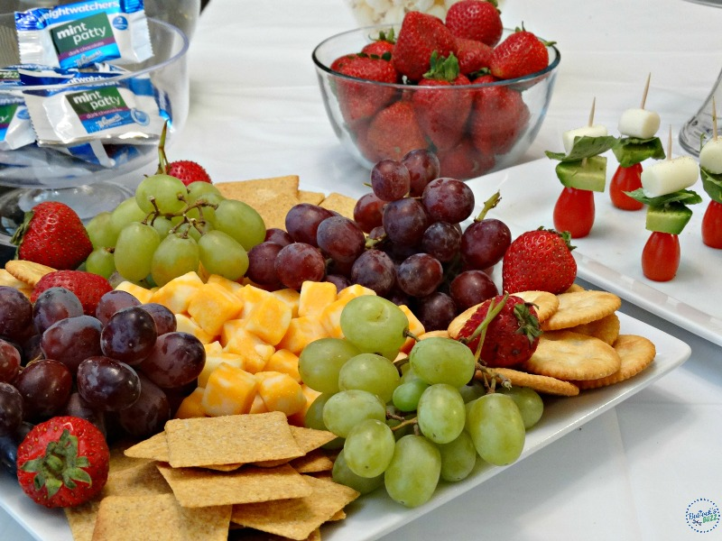 healthy snack ideas fruit tray party foods weight watchers