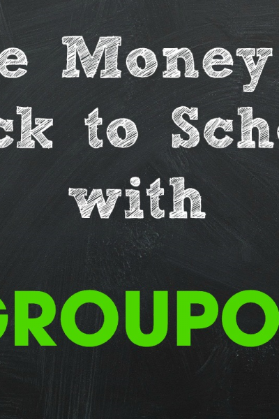 Save Money on Back To School with Groupon