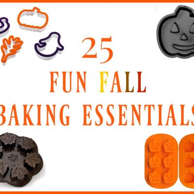 25 Fun Fall Baking Essentials + 3 Delectable Fall Recipes