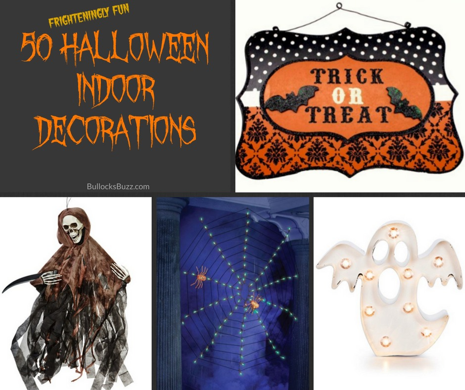 Southern Bliss Blog Haunting Halloween Cocktails: 50 Halloween Indoor Decorations