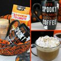 Hazelnut Mocha Delight Coffee Recipe + DIY Halloween Coffee Mug