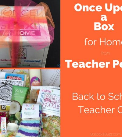 Gifts for Teachers: Once Upon a Box for Home from Teacher Peach