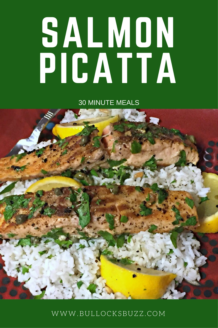 In just 30 minutes or less, you can serve up this delicious and easy Salmon Picatta recipe that your entire family will love. Plus, it's gluten free!